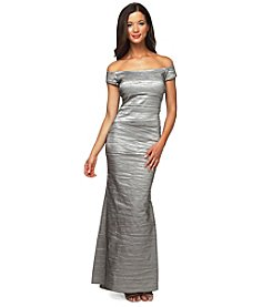 Alex Evenings® Taffeta Crinkle Gown