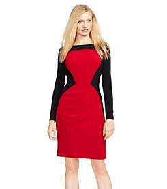 Lauren Ralph Lauren® Color-Blocked Jersey Dress