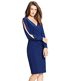 Lauren Ralph Lauren® Split-Sleeve Jersey Dress