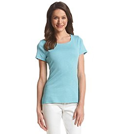 Ruff Hewn Solid Scoop Neck Tee