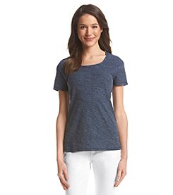 Ruff Hewn Heathered Scoop Neck Tee