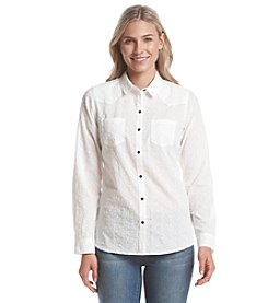 Ruff Hewn Gauze Western Button Down Shirt
