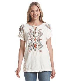 Ruff Hewn Southwest Print Embellished Tunic