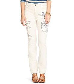 Lauren Jeans Co.® Slimming High Rise Jeans