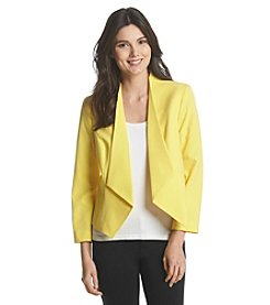 Nine West® Wing Collar Jacket