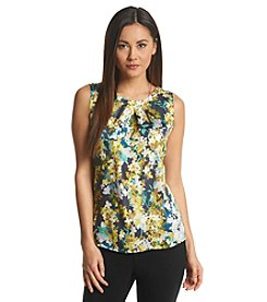 Nine West® Floral Pintuck Cami