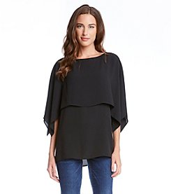 Karen Kane® Double Layer Top