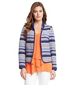 Karen Kane® Pacific Jacquard Jacket