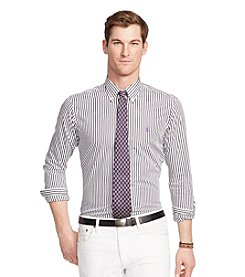 Polo Ralph Lauren® Men's Big & Tall Gingham Knit Interlock Shirt