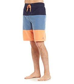 Le Tigre Men's Colorblock Swim Trunks