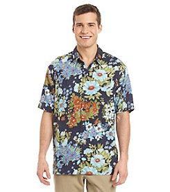 Tommy Bahama® Men's Yarra Valley Floral Camp Short Sleeve Button Down Shirt