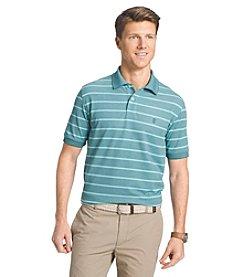 Izod® Men's Short Sleeve Oxford Stripe Polo