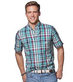 Chaps® Men's Short Sleeve Easycare Woven Button Down Shirt