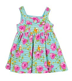 Rare Editions® Baby Girls' Textured Floral Dress