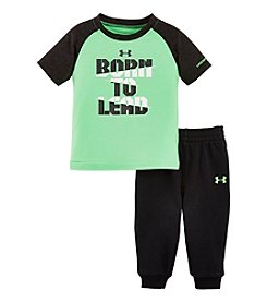 Under Armour® Baby Boys' 12-24M Born To Lead Tee And Jogger Pants Set