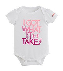 Under Armour® Baby Girls' I Got What It Takes Bodysuit