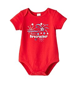 Cuddle Bear® Baby Grandma's Firecracker Bodysuit