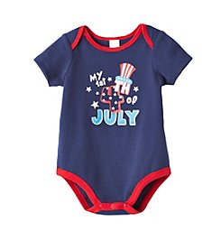 Cuddle Bear® Baby First 4th of July Bodysuit