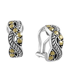 Effy® Balissima Collection Sterling Silver Hoop Earrings