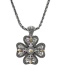 Effy® Balissima Collection Sterling Silver and Gold Pendant