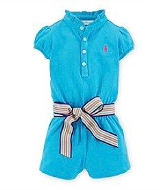 Ralph Lauren Childrenswear Baby Girls' Belted Romper