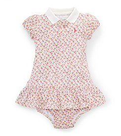 Ralph Lauren Childrenswear Baby Girls' Floral Knit Dress
