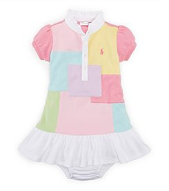Ralph Lauren Childrenswear Baby Girls' 3-24M Patchwork Dress