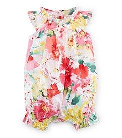 Ralph Lauren Childrenswear Baby Girls' Floral Shortalls