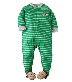 Carter's® Baby Boys' 12M-4T Surfer Monkey Striped Sleeper