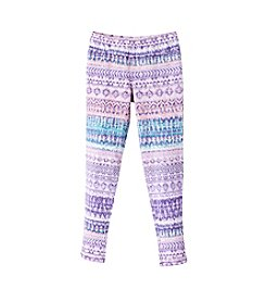 Jessica Simpson Girls' 7-16 Striped Print Leggings