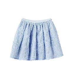 Jessica Simpson Girls' 7-16 Chiffon Flower Skirt