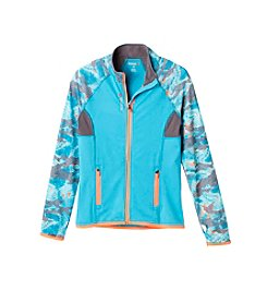 Reebok® Girls' 7-16 Glitch Printed Jacket