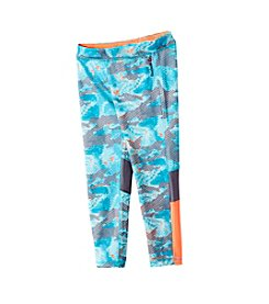 Reebok® Girls' 7-16 Glitch Printed Leggings
