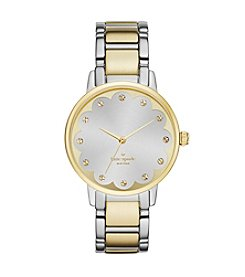 kate spade new york® Women's Gramercy Scallop Two-Tone Watch