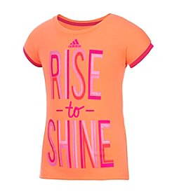 adidas® Girls' 2T-6X Short Sleeve
