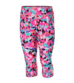 adidas® Girls' 2T-6X Mosaic Printed Capri Leggings