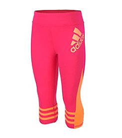 adidas® Girls' 2T-6X Capri Leggings