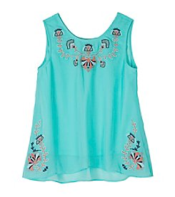 Amy Byer Girls' 7-16 Embellished Tank