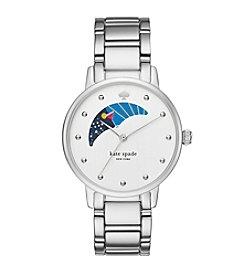 kate spade new york® Women's Silvertone Gramercy Stainless Watch