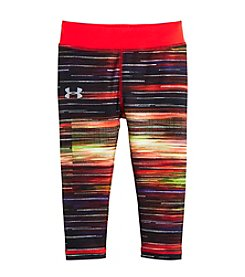 Under Armour® Girls' 2T-6X Spectrum Printed Capri Leggings