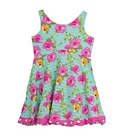Rare Editions® Girls' 2T-6X Floral Printed Dress