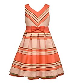 Bonnie Jean® Girls' 2T-6X Sleeveless Striped Dress