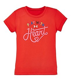 Under Armour® Girls' 2T-6X Short Sleeve