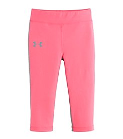 Under Armour® Girls' 2T-6X Capri Leggings