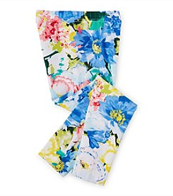 Ralph Lauren Childrenswear Girls' 2T-6X Floral Leggings