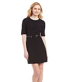 XOXO® Zip Pocket Sheath Dress