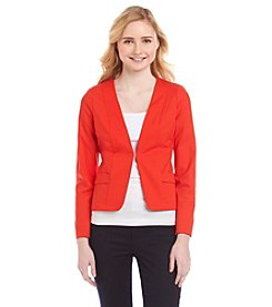 XOXO® Collarless Blazer