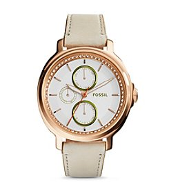 Fossil® Women's Rose Goldtone Chelsey Watch