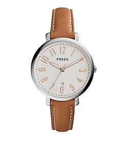 Fossil® Women's Silvertone Jacqueline Watch