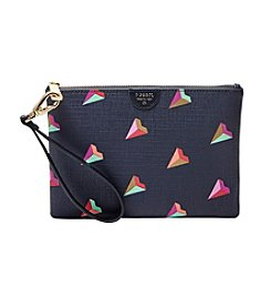 Fossil® Printed Small Zip Wristlet